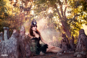 Dark Fairy Fanatsy- Obsidian MUA