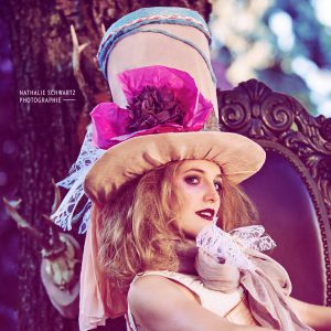 Mad Hatter- Obsidian Make Up Artist Fantasy