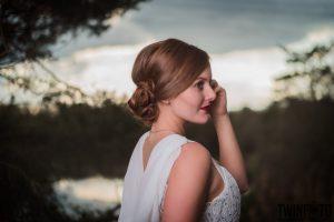 Rote Lippen- Braut Makeup- Obsidian MUA