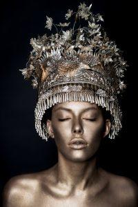 Golden Bodypainting- Obsidian MUA