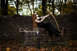 Bow and arrow Fantasy - Obsidian MUA