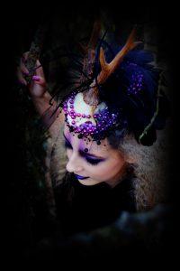Horned creature Fantasy- Obsidian MUA
