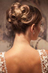 Klassische Braut Frisur- Obsidian MUA