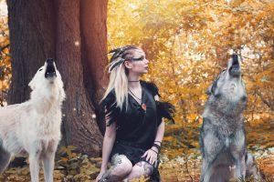 Wolf-Obsidian MUA Fantasy