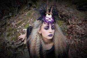 Horned Creature/ Fantasy- Obsidian MUA