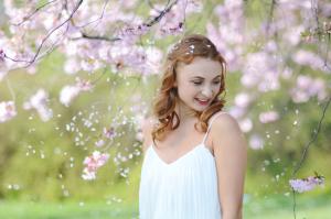 Kirschblüten- Braut- Obsidian MUA