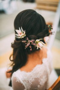Obsidian Make Up Artist Bridal Styling Autumn Theme Clos Up Hair